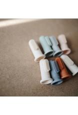 Mushie Toothbrush Shifting Sand + Clay