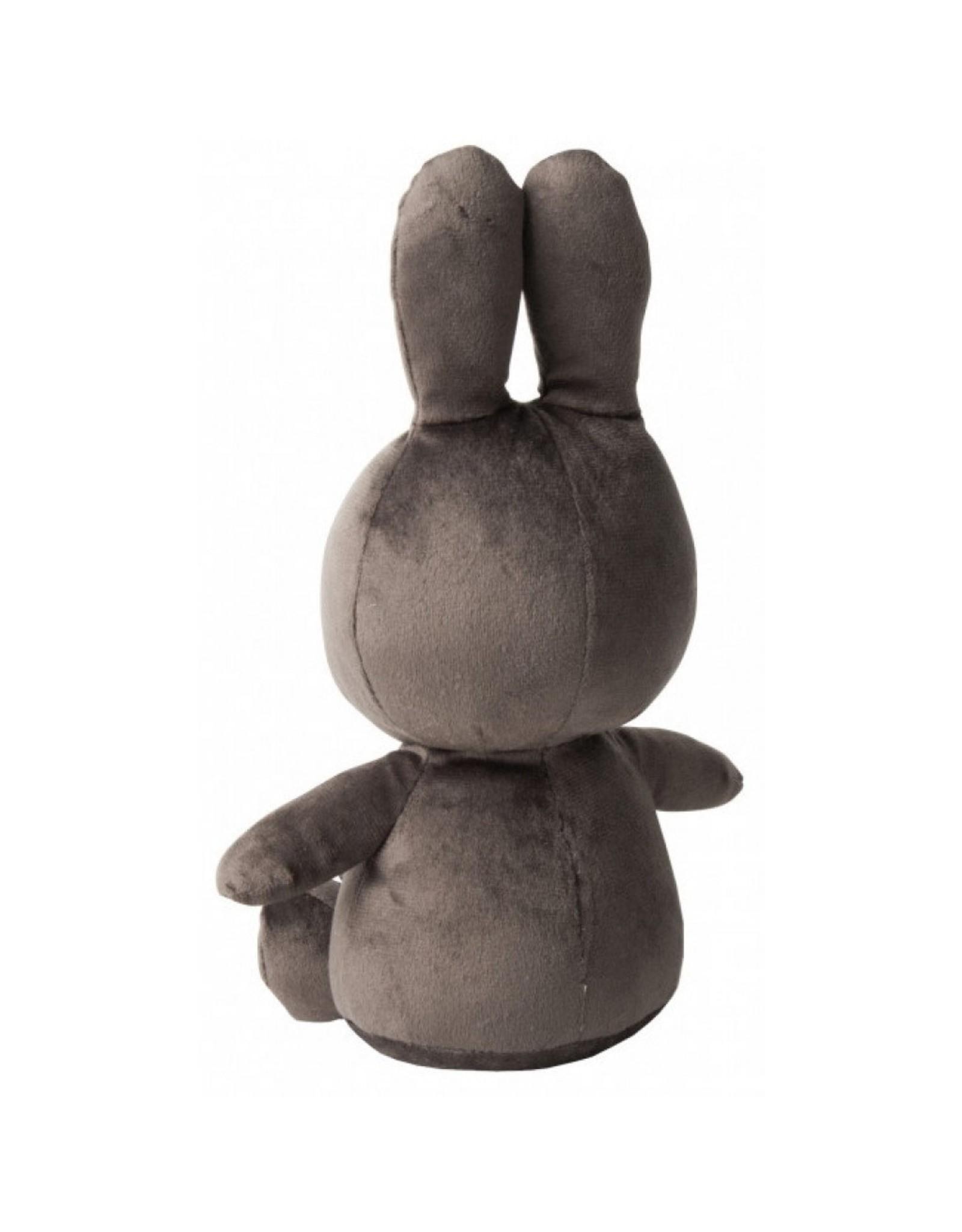 Nijntje Sitting Velvetine Grey - 23 cm