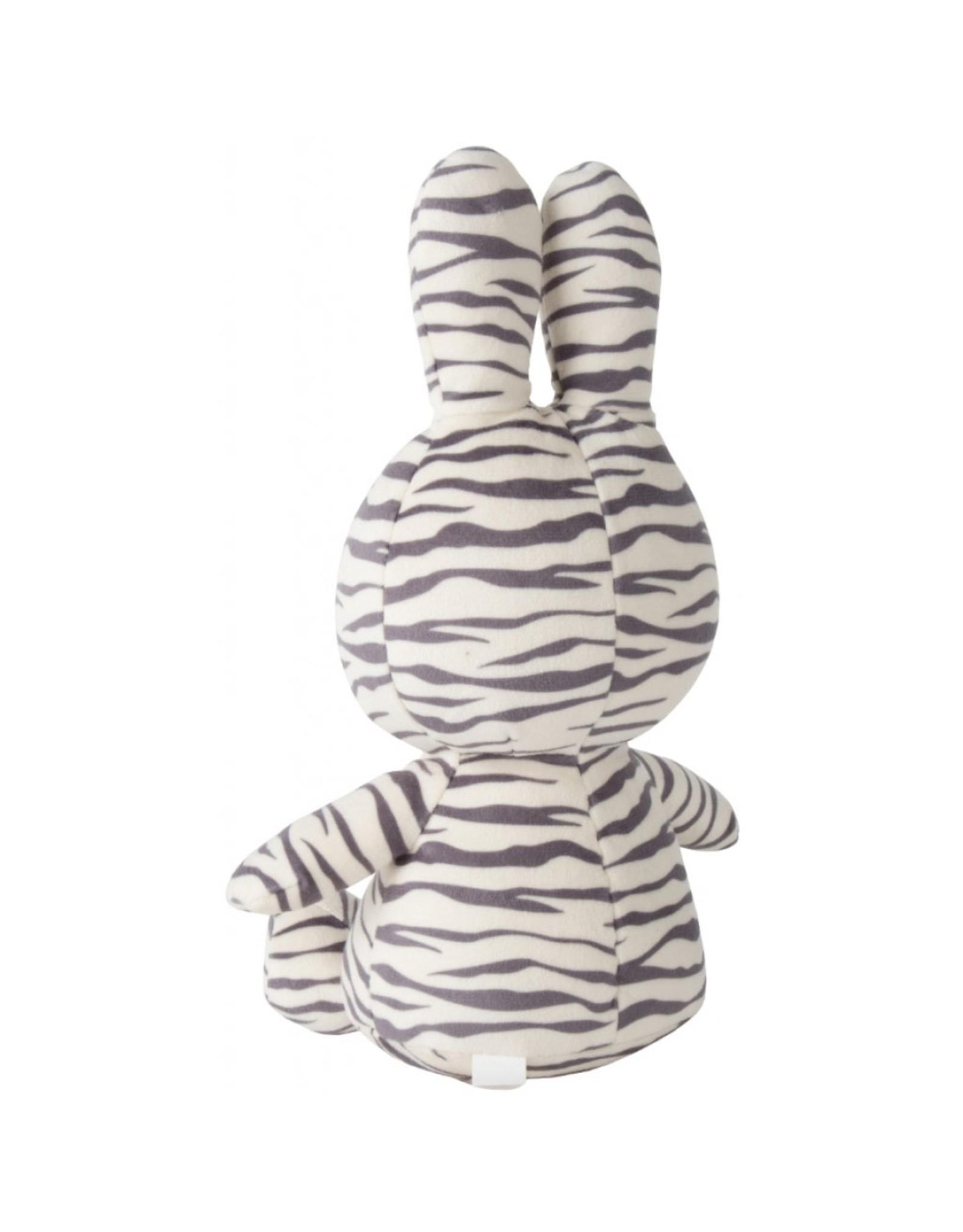 Nijntje Sitting all-over Zebra print - 23 cm