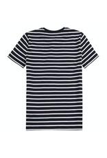 Lyle & Scott Boys Breton T Shirt Navy Blazer