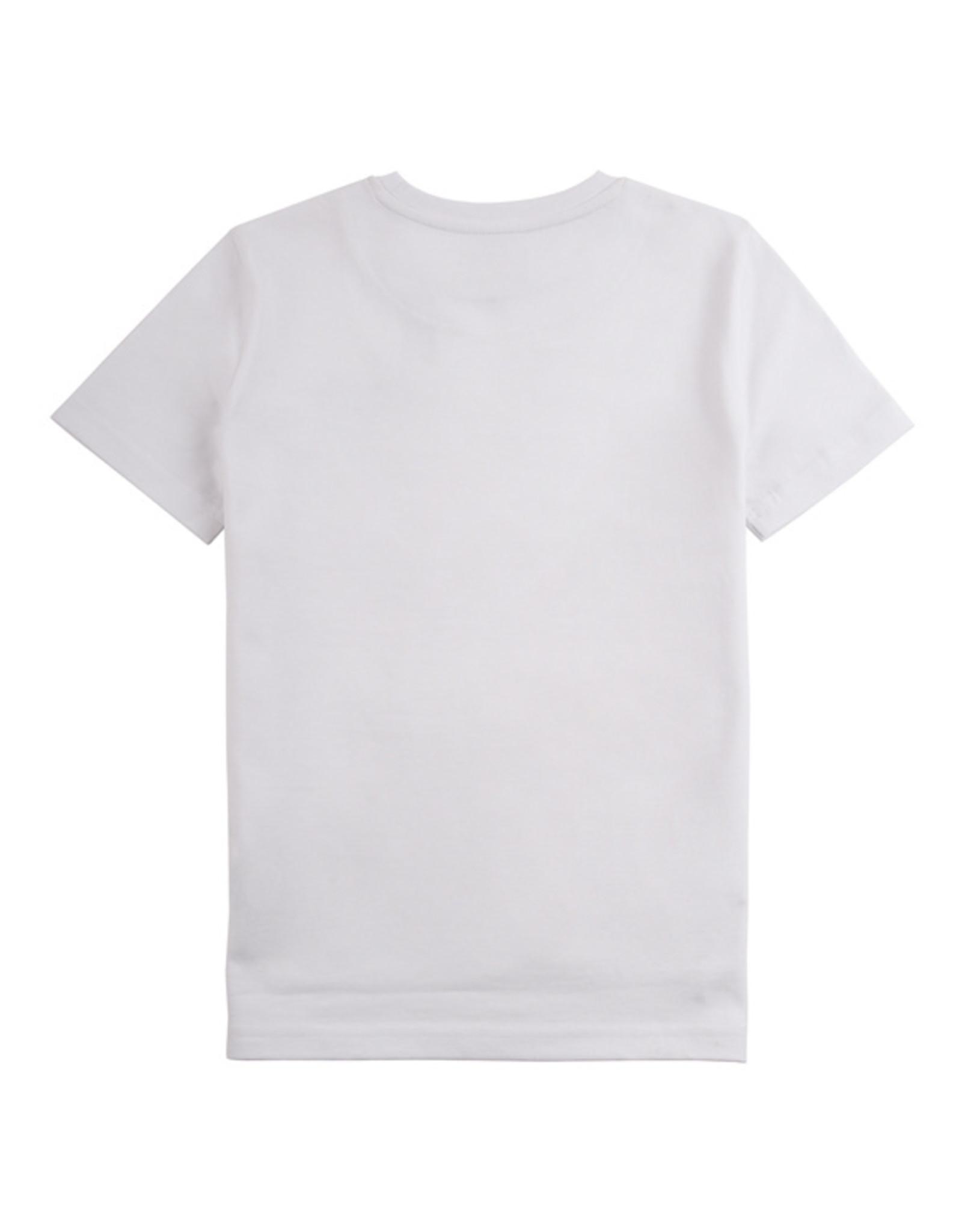 Lyle & Scott Boys Reflective Detail T Shirt Bright White