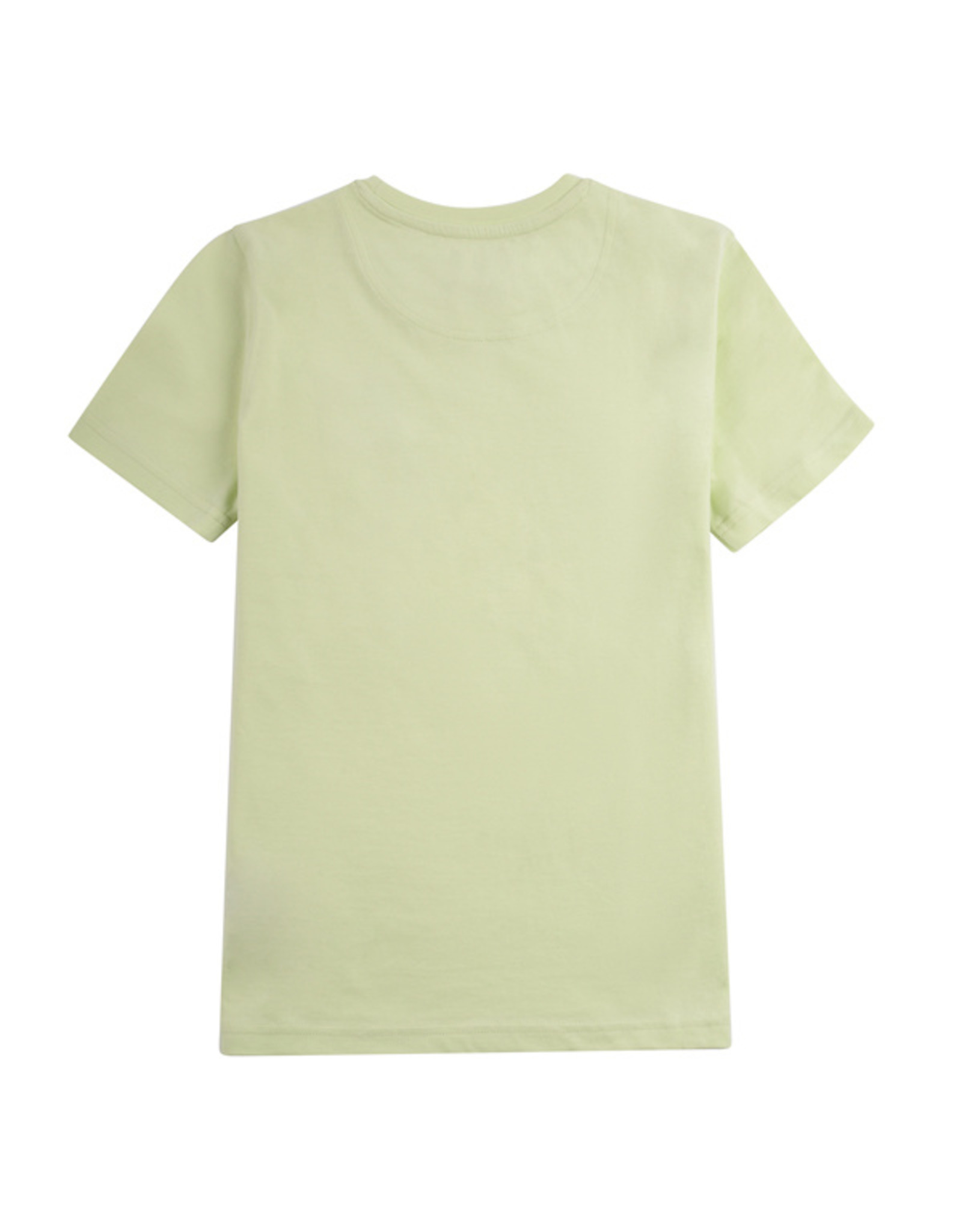 Lyle & Scott Boys Casual Classic Tee Lime Cream