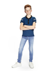 Retour Jeans Pant Luigi Light Blue Denim