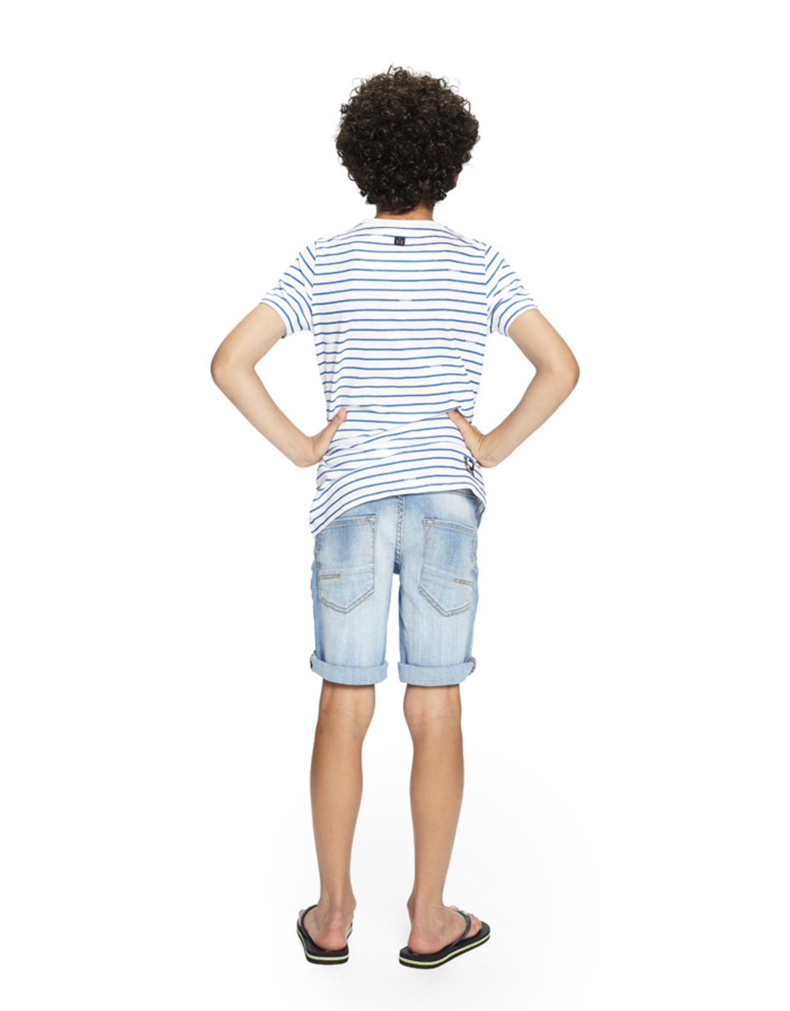 Retour Jeans Short Reve Light Blue Denim