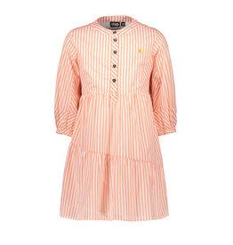 Like Flo girls woven tuniek Neon stripe