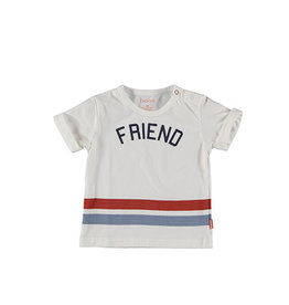 Bess Shirt sh.sl. FRIEND White