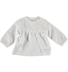Bess Shirt Blouse Ruffles White