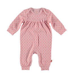 Bess Suit AOP Flower Pink
