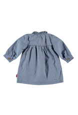 Bess Dress Woven Lightblue