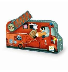 Djeco Silhouette puzzel Fire Truck DJ07269