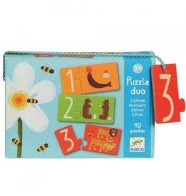 Djeco Puzzel duo Numbers DJ08151