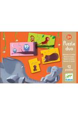 Djeco Puzzel duo Mom and Baby DJ08157