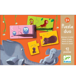 Djeco Puzzel duo Mom and Baby DJ08157