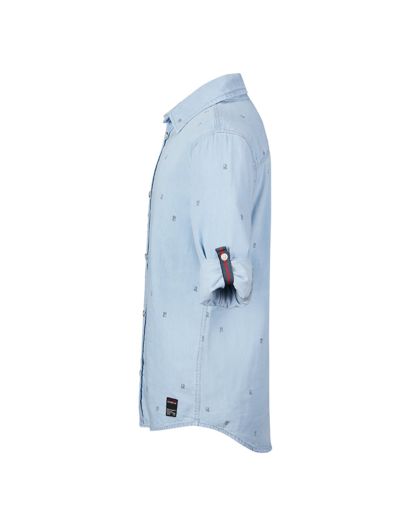 Retour Jeans Shirt Eloy Bleached Blue Denim