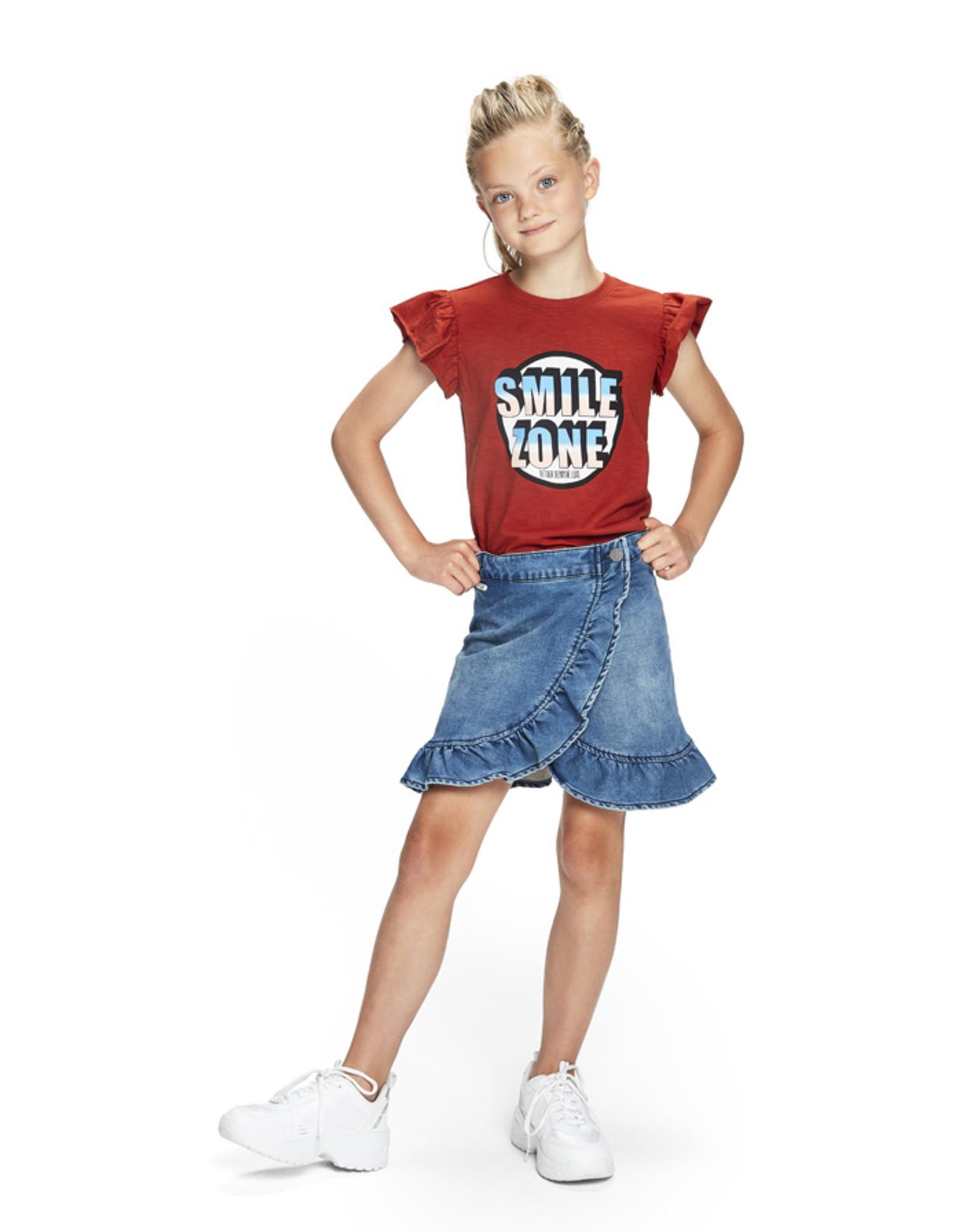 Retour Jeans T-shirt Brenda Brique