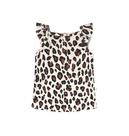 Your Wishes Leopard | Ruffle Singlet Terra