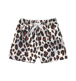 Your Wishes Leopard   Swim Shorts Terra