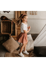 Your Wishes Broderie Terra | Skirt Peach