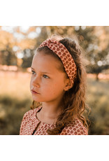 Your Wishes Broderie Terra | Twisted Headband Peach