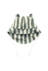 Your Wishes Bold Stripes | Bear Summer Hat Old Green