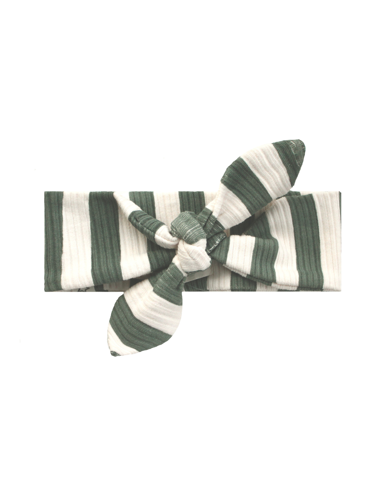 Your Wishes Bold Stripes   Headband Old Green
