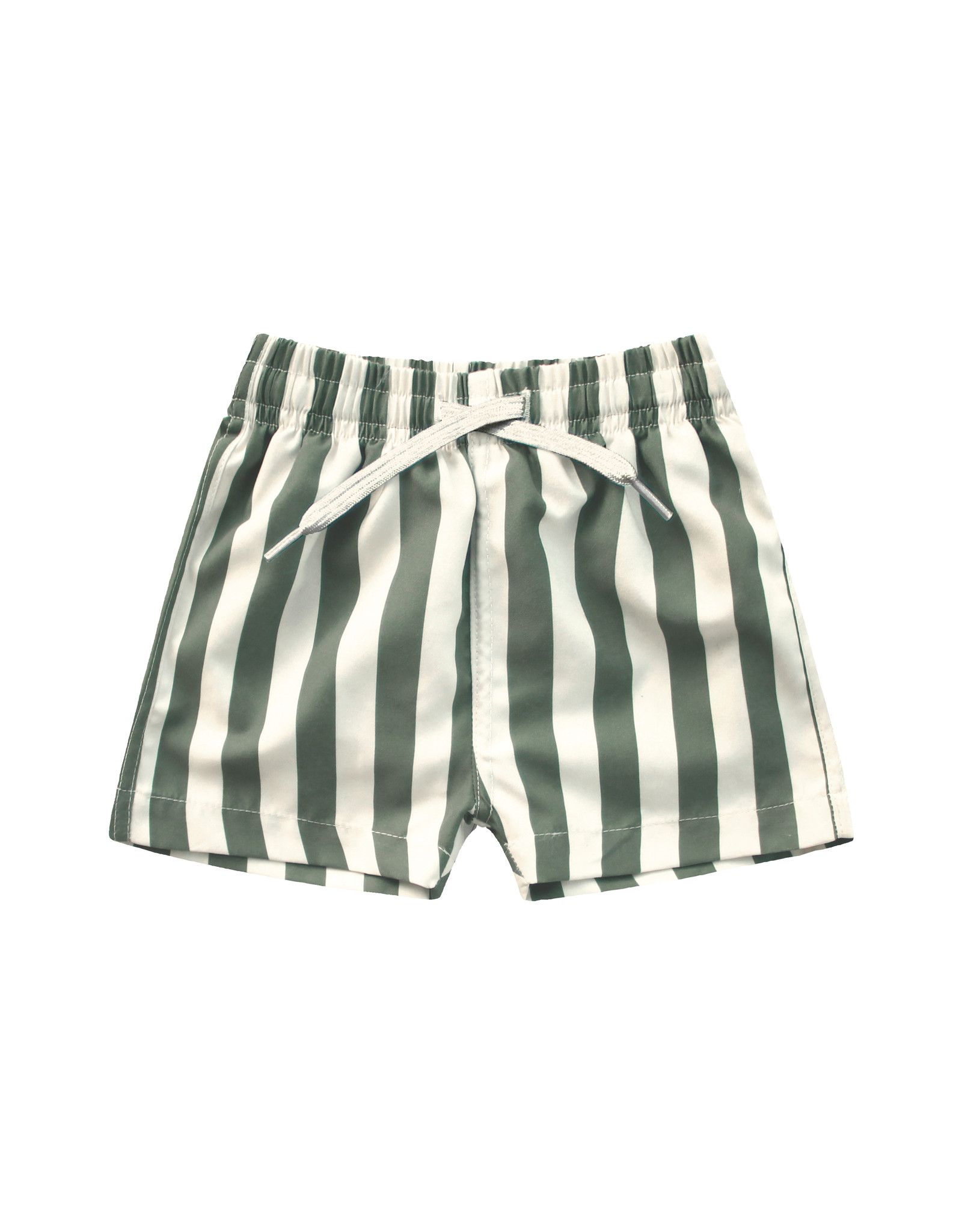 Your Wishes Bold Stripes | Swim Shorts Old Green