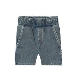 Your Wishes Knitted Denim | Long Short Denim Blue