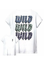 Kids Only Kongina Life Fit S/S Vibe/Wild Top Jrs Bright White