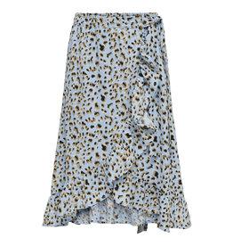 Kids Only Konlino Long Fake Wrap Skirt Cs  Wvn Blue Bell
