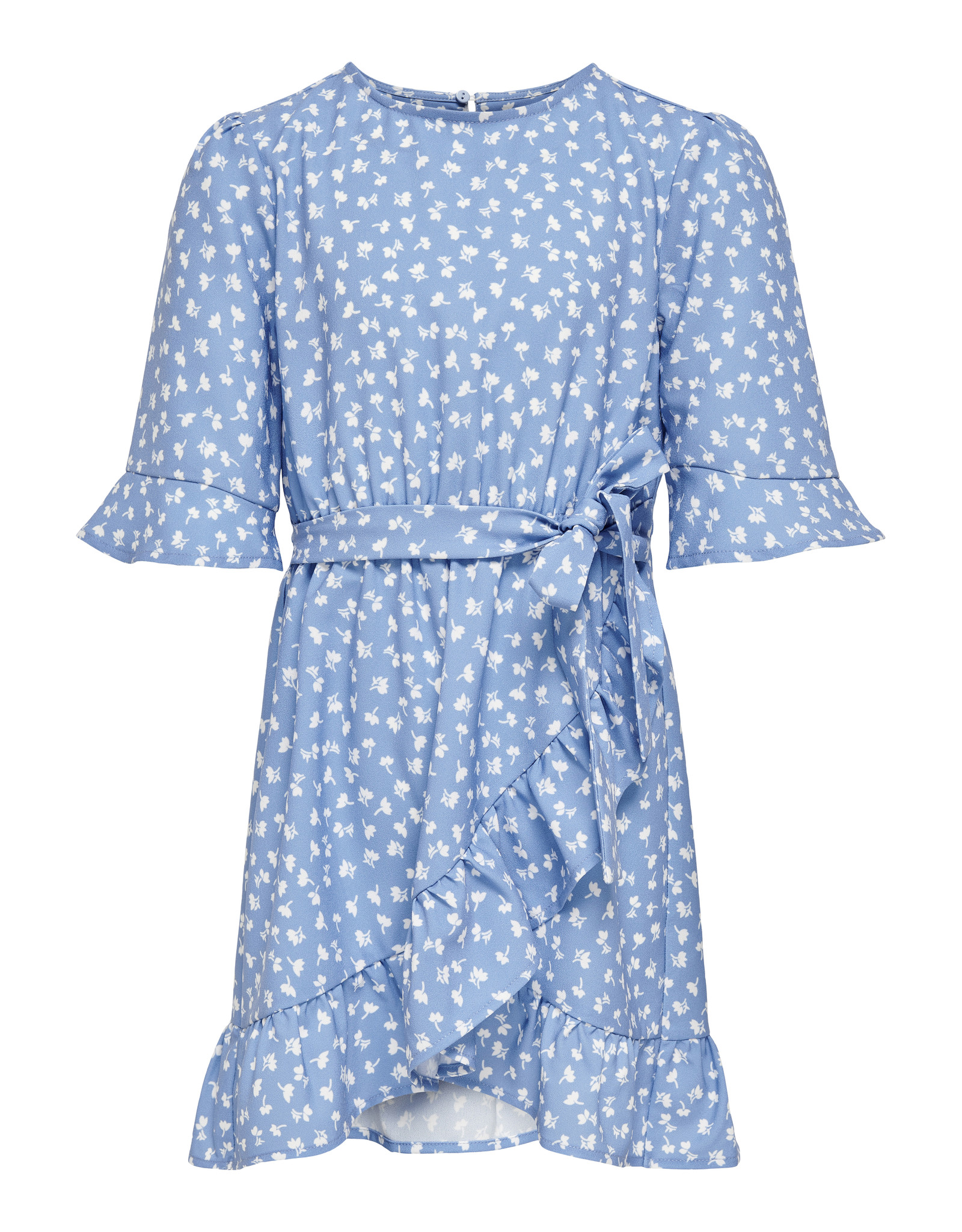 Kids Only Konsisse S/S Fake Wrap Sh Dress Wvn Allure