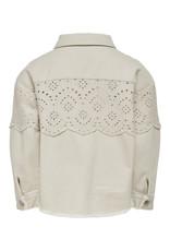Kids Only Konelena Life Crochet Jacket Otw Moonbeam