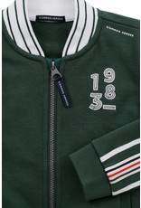 Common Heroes NATHAN sporty sweat Cardigan army
