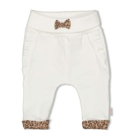 Feetje Broek - Panther Cutie Offwhite