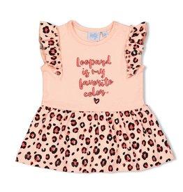 Feetje Jurk My Favorite - Leopard Love Roze