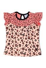 Feetje Singlet - Leopard Love Roze