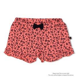 Feetje Slip - Leopard Love Neon Koraal