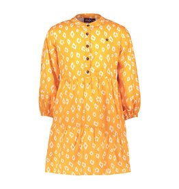 Like Flo girls woven tuniek Sunflower