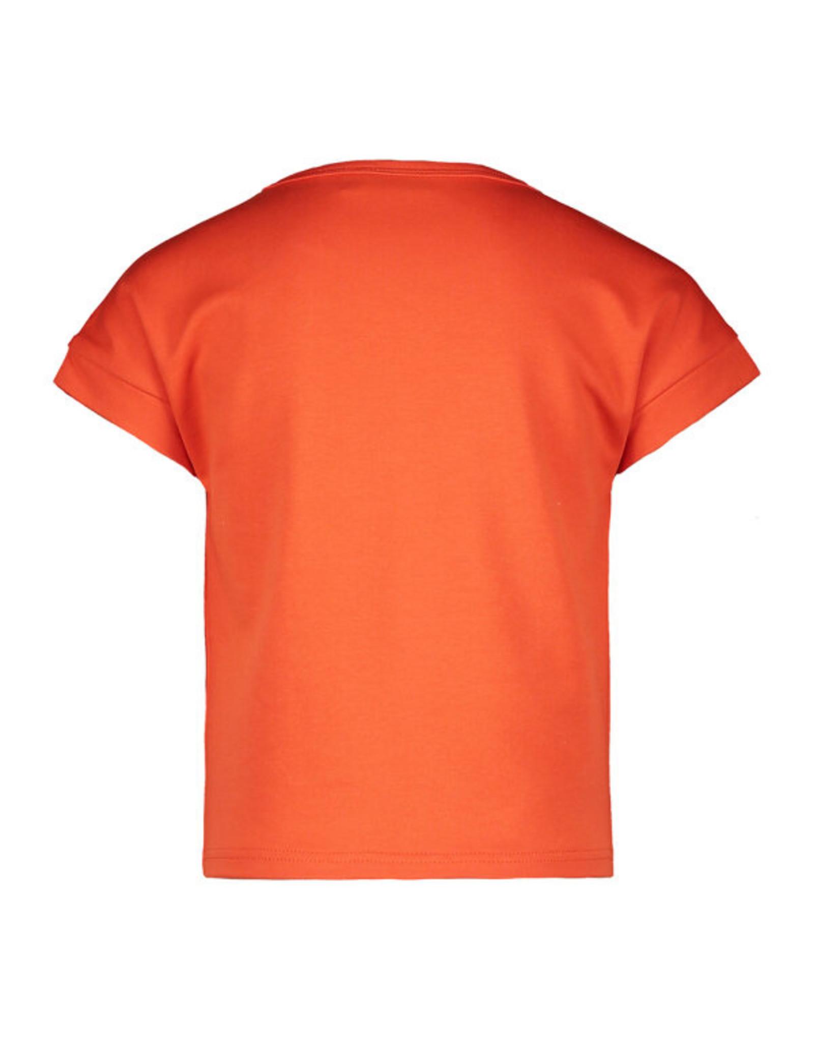 Like Flo girls lt sweat knotted ss sweater Orange