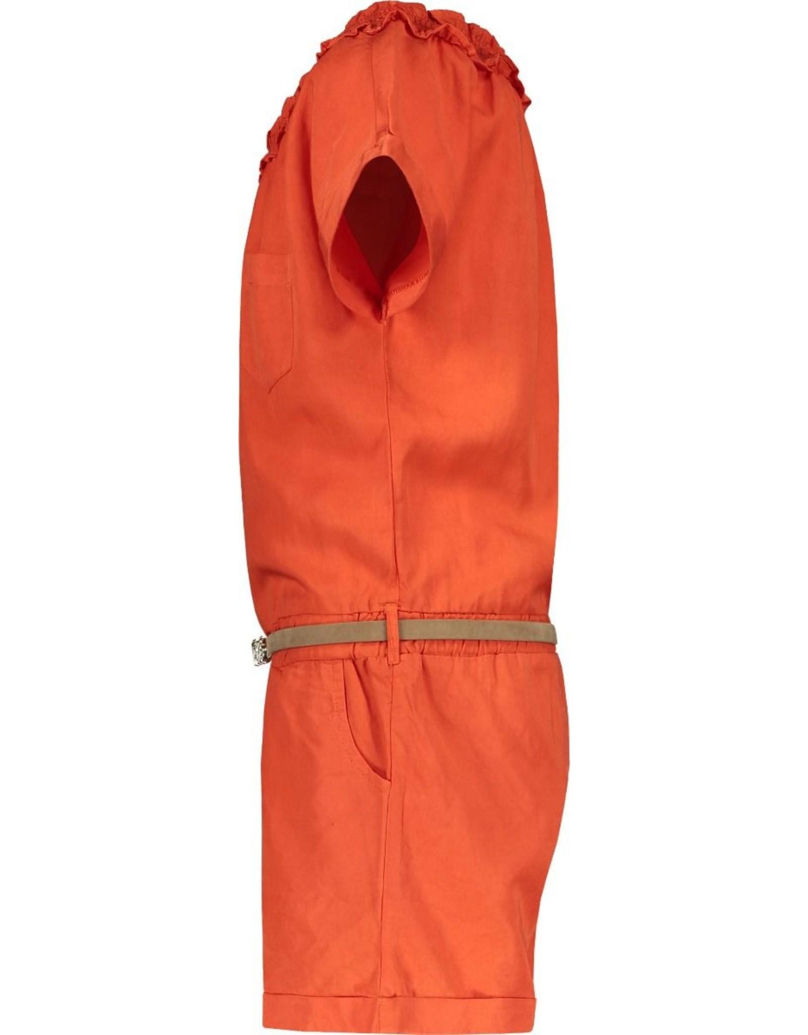 Like Flo girls tencell jumpsuit Orange