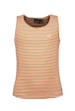 Like Flo girls YD stripe singlet Cognac stripe