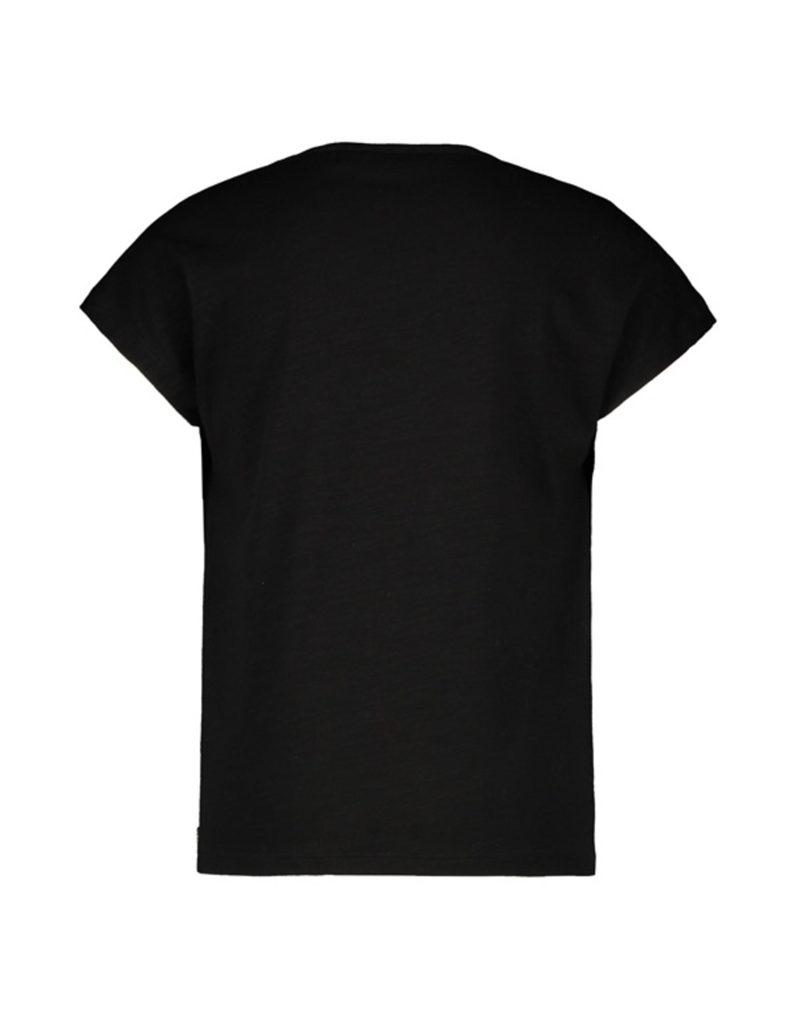 Like Flo girls jersey tee LIKE FLO Black