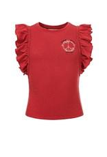 LOOXS 10sixteen fancy T-shirt Blush
