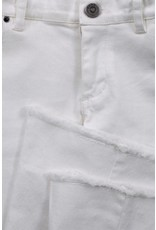 LOOXS 10sixteen Flare pants WHITE LILLY