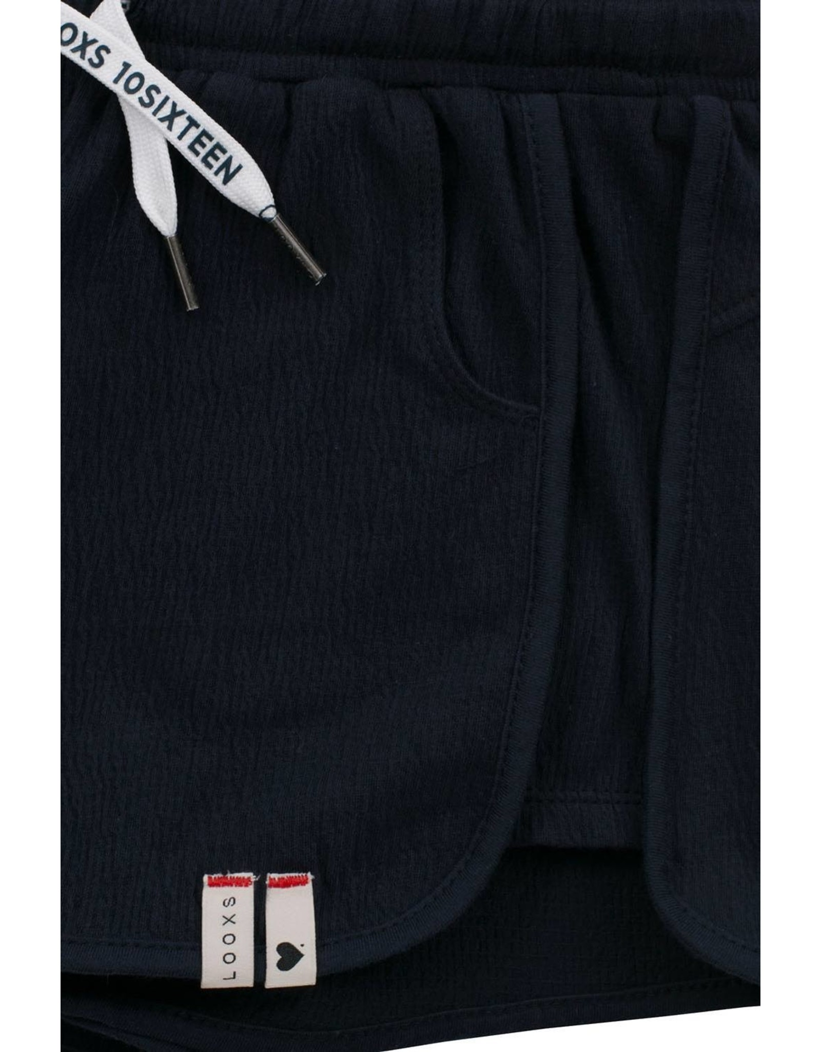 LOOXS 10sixteen Crinkle jersey shorts OXFORD BLUE