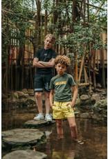 Malelions Junior T-shirt Nium Army - Yellow
