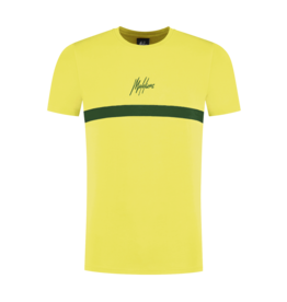 Malelions Junior T-shirt Tonny Yellow - Army