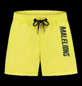 Malelions Junior Swimshort Nium Yellow - Army