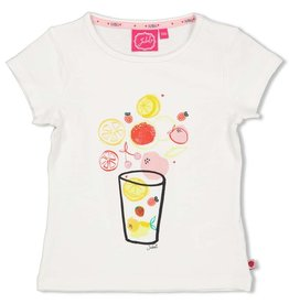 Jubel T-shirt - Tutti Frutti Wit