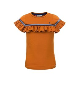 LOOXS Little Little t-shirt s. sleeve OCHRE