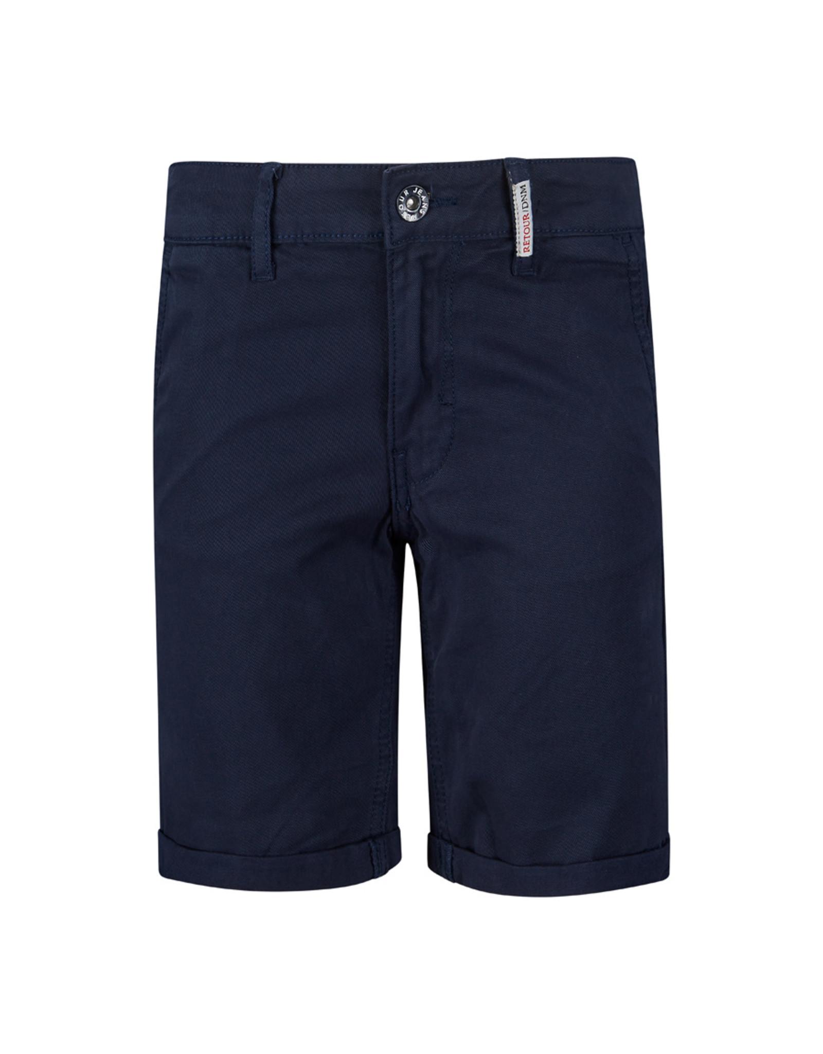 Retour Jeans Short Stanley Dark Navy